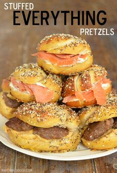 Stuffed Everything Pretzels (Mary Makes Good)