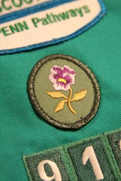hotcakes: WFMW - Sewing Girl Scout Badges