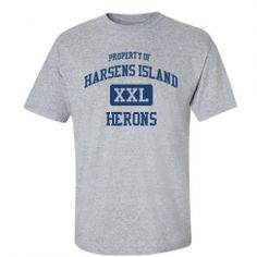 Harsens Island Elementary School - Harsens Island, MI | Men's T-Shirts Start at $21.97