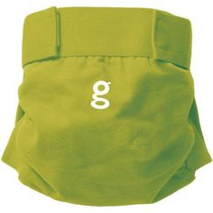 gDiapers gPants Reusable Diaper Covers - Solid Colors (Choose Your Size/Color), Green