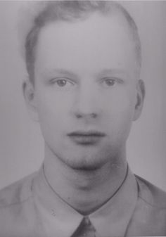 Thomas Ruff Andere Portrait 71A/92 1995 Silkscreen on paper, glass, wood 200 x 150 cm