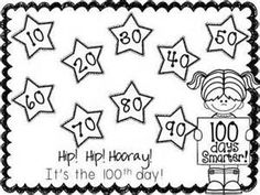 free 100th day printables - - Yahoo Image Search Results
