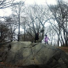 Here are my loves exploring #CentralPark!.Find out more about our trip to #NYC here:http://sociallyco.blogspot.ca/2016/04/all-of-amazing-sights-flavors-of-new.html  #travelingfamily #familytravel #familyjaunts  #NewYork