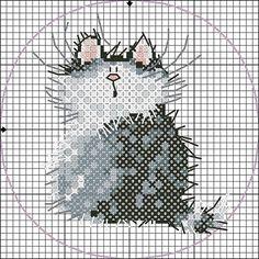 ideas embroidery patterns cross stitch kitty for 2019 Mini Cross Stitch, Cross Stitch Animals, Cross Stitch Charts, Cross Stitch Patterns, Cat Cross Stitches, Cross Stitching, Cross Stitch Embroidery, Embroidery Patterns, Margaret Sherry