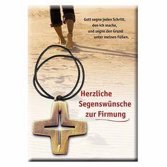 #Kreuz-Anhänger aus #Bronze - Geeignetes #Geschenk zum #Sakrament der #Firmung Symbols, Letters, Good Books, Cordial, Crosses, Gifts, Letter, Lettering, Glyphs