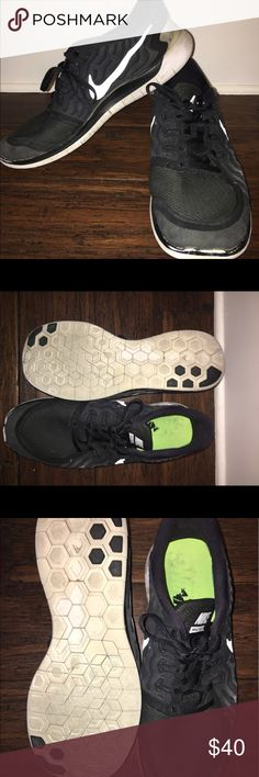 Black Nike Free Run Size 13 Black Nike Free Run Size 13 Fair Condition Nike Shoes Athletic Shoes
