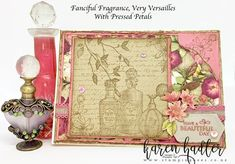 These two Stamp Sets Fanciful Fragrance and Very Versailles go together perfectly and was two of the sets on the very top of my list :-) They are perfect for making those old fashioned vintage type cards. I have combined them with the Pressed Petals Desig Price Of Stamps, How To Make Stencils, Vintage Cards, Vintage Type, Vintage Items, Christmas Gift Box, Stamping Up, Your Cards, Cardmaking