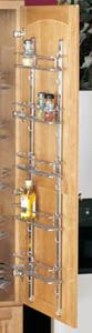 Door Storage 5 Baskets and 2 Standards Wall Accessories - the motherload of cabinet storage options