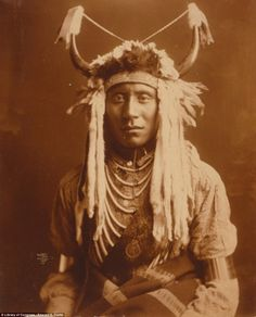 Renowned American photographer Edward S. Curtis took thousands of photographs of Native Americans to document their way of life back in the 1900s