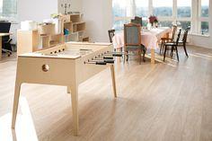 plywood foosball on Behance