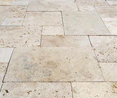 Marble Floor Tile Walnut Travertine Honed (Per Sq. Patio Tiles, Patio Flooring, Kitchen Flooring, Outdoor Pavers, Outdoor Tiles, Outdoor Pergola, Pergola Ideas, Landscaping Ideas, Backyard Ideas