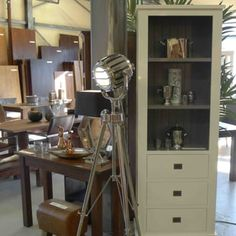 Floorlamp tripod € 945,00 - Yelp Tripod, Floor Lamp, Interior, Indoor, Interiors, Floor Lamps