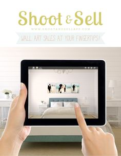 The app no photographer should be without - help your clients picture their pictures on their walls and watch your sales averages soar!  $79.99 #shootandsell #photography
