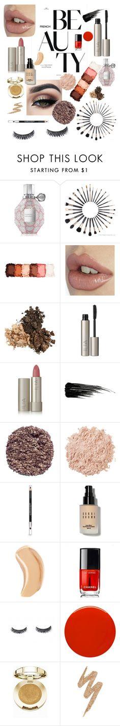 """Beauty"" by ruthari ❤ liked on Polyvore featuring beauty, Viktor & Rolf, Sigma, NYX, Tiger Mist, Ilia, Urban Decay, Illamasqua, La Mer and The Body Shop"