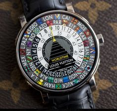 The new Escale Worldtime by Louis Vuitton.