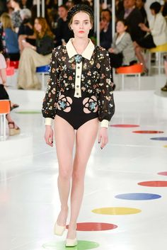 Mina Cvetkovic for Chanel Cruise 2015-16 in Seoul #ChanelCruiseSeoul Visit espritdegabrielle.com | L'héritage de Coco Chanel #espritdegabrielle