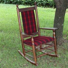 Found It At Wayfair   Dixie Seating Company Woolrich Blanket Furniture  Rocking Chair   Fabric: