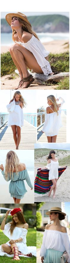 Perfect 2015 Off the Shoulder Dresses