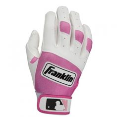 Franklin Sports Youth Series Batting Gloves - Pink/White - Mills Fleet Farm