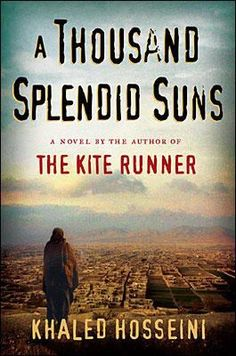 A Thousand Splendid Suns by Khaled Hosseini.  Sad book but gave me perspective and I appreciated reading it.
