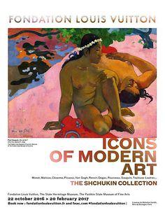 « Icônes de l'art moderne », la collection Chtchoukine | Fondation Louis Vuitton Oct. 16 - Mars 17