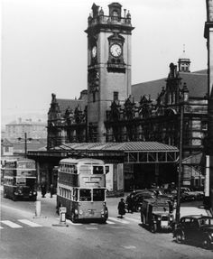 The railways of Nottingham have always been a favourite subject with our readers. Here Andy Smart tells the story of the important Weekday Cross Junction Nottingham Station, Nottingham City, Old Train Station, Old Street, History Photos, Derbyshire, Historical Pictures, Old Photos, Big Ben
