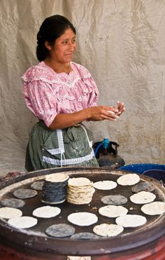 Tortillas - Guatemala Street Food: