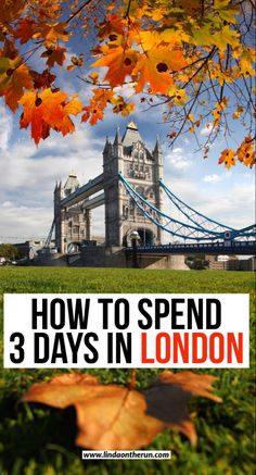 The ultimate 3 days in London itinerary| How to spend 3 days in London| London| England| United Kingdom| #london #england #europe #travel