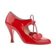 RAQUEL RED PATENT - Classics - Shoes
