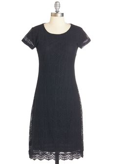 Smitten With You Dress. You draw a chorus of ohhs and ahhs each time you step out in this little black dress! #black #modcloth