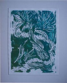 Printmaking, Shapes, Night, Drawings, Flowers, Artwork, Flower Designs, Art Production, Visual Arts
