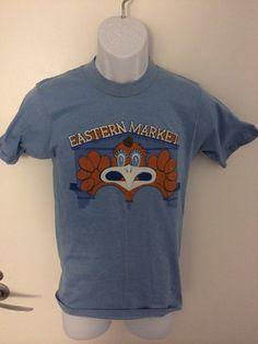 Vintage 1980s Eastern Market Detroit Michigan by Twenty30tees, $50.00