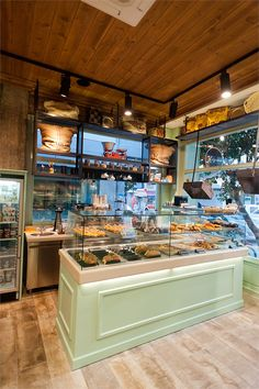 Knockout bakery interior design ideas : î£ï‡îµî´î¹î± ï†î¿ï ï î½î¿ï on bakeries bakery design and bakery small bakery interior design ideas bakery interior Bakery Shop Design, Coffee Shop Design, Design Shop, Bakery Interior Design, Cute Coffee Shop, Design Design, Coffee Shop Interior Design, Cupcake Shop Interior, Pastry Shop Interior