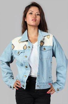 Apliiq.com presents the delgado unisex denim jacket $99.00