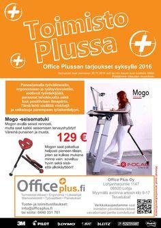 Toimisto Plussa - Office Plussan kampanjalehti 08-11/2016 Office Supplies