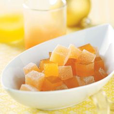 Orange Gumdrops Recipe from Taste of Home