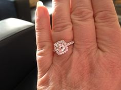 Moms 25th anniversary ring!! Jealous ;)
