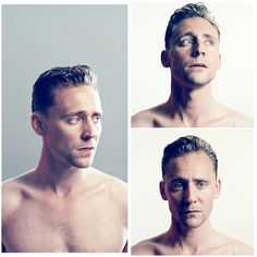 <3 Tom Hiddleston, ummmm wow! There are no words really... << he looks sooo sad :(