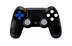 PS4Controller-BlackNightmare   Flickr - Photo Sharing! #PS4controller #PS4 #PlayStation4controller #customcontroller #moddedcontroller #dualshock4