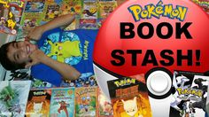 VIDEO: My #Pokemon Book Collection!   WATCH: http://youtu.be/A9WJAOjEsB4  #PokemonBooks #BookCollection #Library #Books #Book