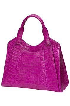 Crocodile handbags for sale Magenta, Soft Leather Handbags, Leather Purses, Handbags On Sale, Purses And Handbags, Bags 2014, Crocodile Handbags, Beautiful Handbags, Cute Bags