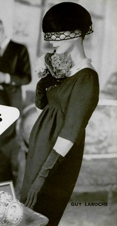 1958 Guy Laroch www.vintageclothin.com
