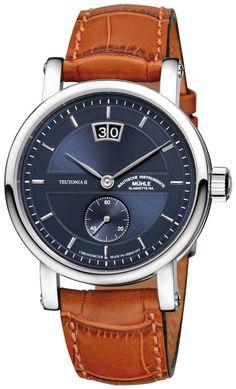 Muhle Glashutte Watch Teutonia II Kleine Sekunde #basel-15 #bezel-fixed…