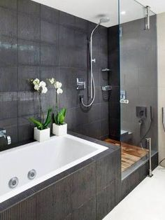 Image result for bath in wet room nz