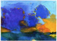 Emil Nolde, 'Meer mit hellvioletter Wolke,' Undated, Louisiana Museum of Modern Art