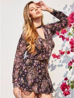 GUESS by Marciano Women's Wild Flower Short