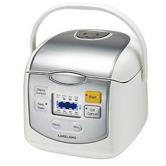 Lakeland Mini Multi Cooker 1.8L - from Lakeland No Crust Quiche, Miele Coffee Machine, Baguette Bread, Bread Mold, One Pot Wonders, Electric Cooker, Wine Bottle Opener, Homemade Breakfast, Thing 1