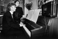 At Piano - Hit Factory, NYC, 1980