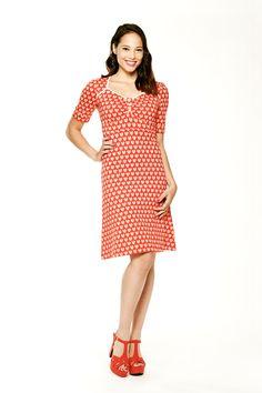 Tante Betsy dress Lola Hearts Red