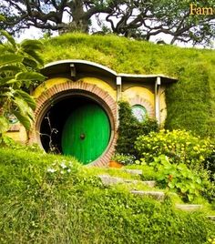 Hobbit house - earth sheltered